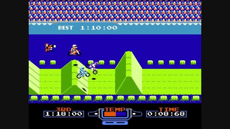 Excitebike Dendy NES by Maddoxx RetroGames