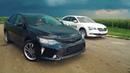 Гонка.Как Обогнать Новую ШКОДУ Тойота Камри против Шкода Суперб Toyota Camry SKODA SUPERB