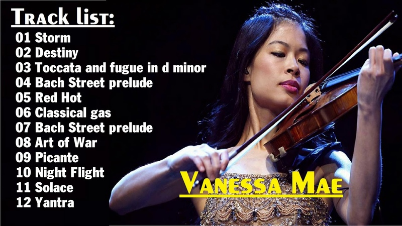 Top Hits Vanessa Mae - Best song Violin || Vanessa Mae Greatest hits