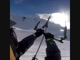 Поехали с нами заниматься сноукайтингом! Подмосковье и Тундра