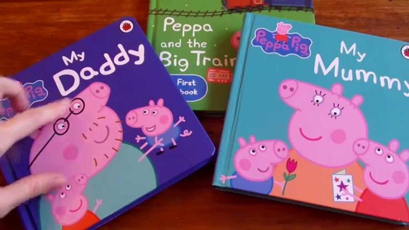 PEPPA PIG STORY BOOKS 1, 粉紅豬小妹故事書1 Fěnhóng zhū xiǎo mèi gùshì shū 1