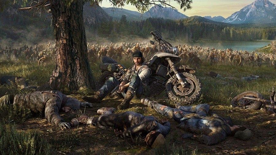 Видеоигра Days Gone = мотоциклы + зомби