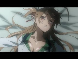 Школа мертвецов(Gakuen Mokushiroku: High School of the Dead) - 11 [RUS озвучка] (аниме эротика, этти,ecchi, не хентай-hentai)