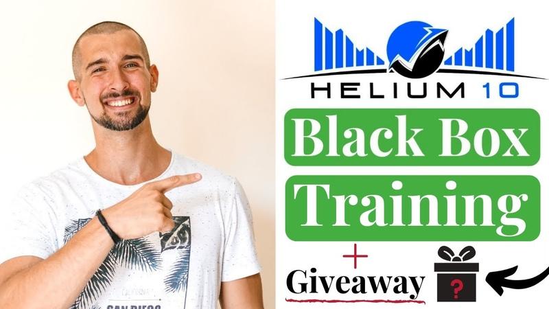 Helium 10 Black Box Training For EZ Amazon Product Research✔