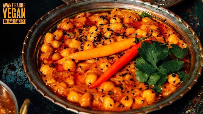 TASTIEST CHICKPEA CURRY   quick recipe!!