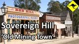 Old Mining Town in Sovereign Hill, Ballarat, Australia