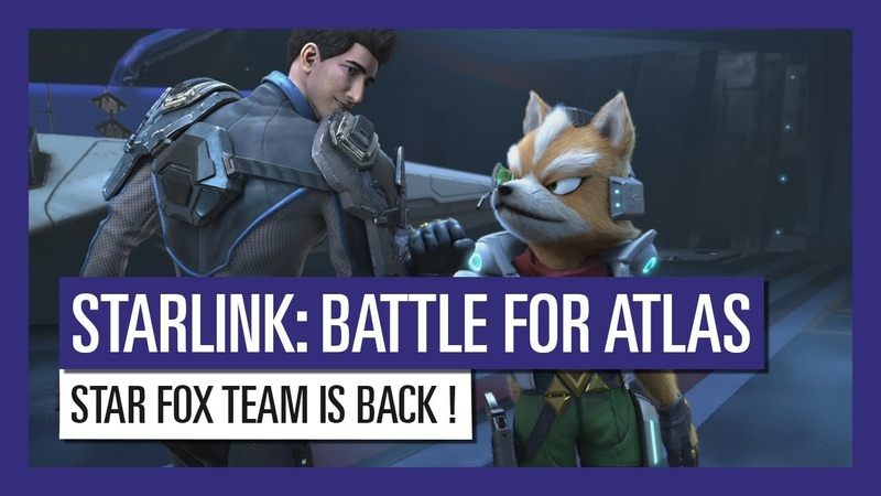 STARLINK : BATTLE FOR ATLAS STAR FOX TEAM IS BACK !