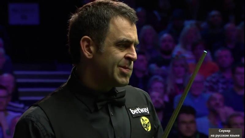 Snooker. UK Championship 2018. Ronnie O'Sullivan - Mark Allen. FINAL. Second session (rus)