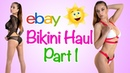 BIKINI TRY ON HAUL FROM EBAY | PART I