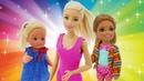 Малышки Барби Эви и Челси все серии подряд на английском языке.