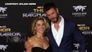 Chris Hemsworth KISSES Elsa Pataky at Thor: Ragnarok World Premiere