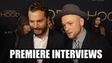 ROBIN HOOD - Premiere Interviews (2018) - Taron Egerton, Jamie Foxx, Jamie Dornan and more