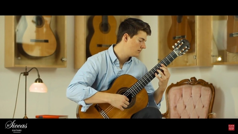 Dominic Flynn plays the 4th Movement of his own piece Unforseen on a 1910 Manuel Ramirez