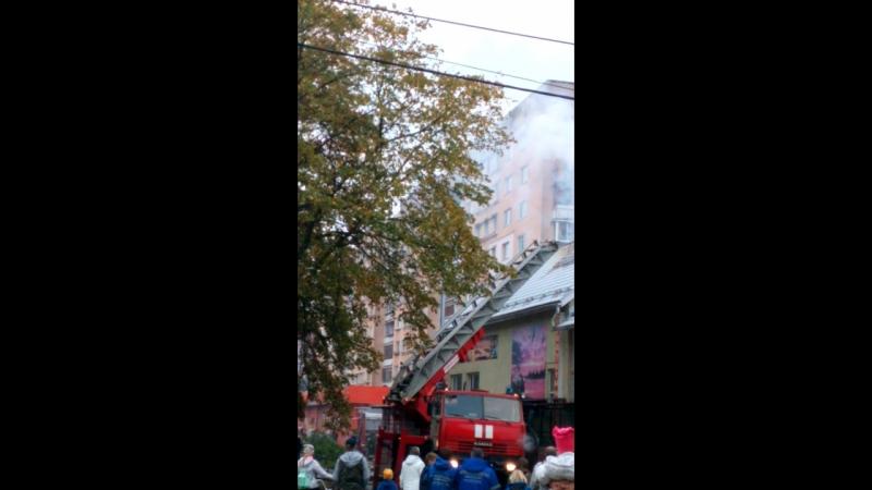 Пожар Караван