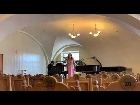 """Ekaterina Mitina - """"Volta la terra"""" from Verdi's """"Un ballo in maschera"""""""