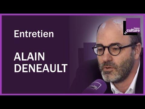 Entretien avec le philosophe Alain Deneault