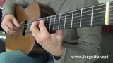 Schindler's List Theme by John Williams, arr. for guitar M. Goldort