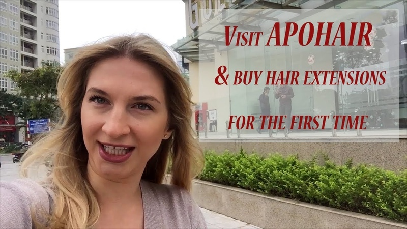 Visit APOHAIR buy hair extensions for the first time