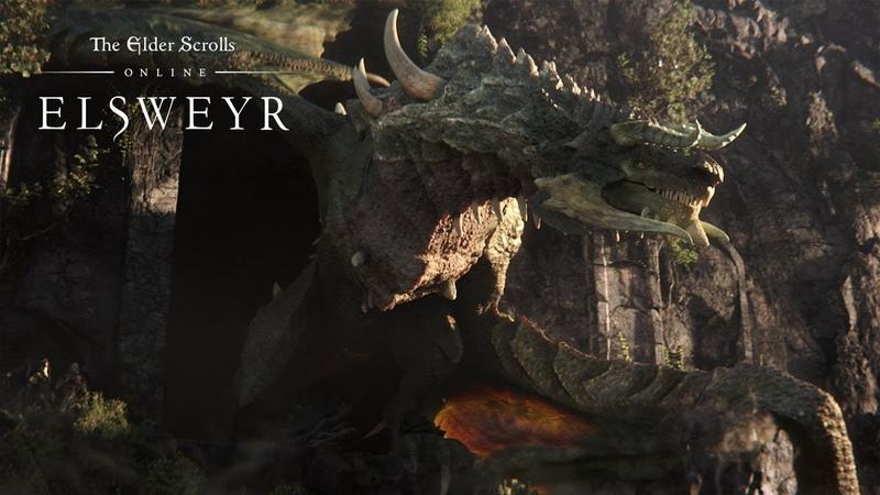 The Elder Scrolls Online Elsweyr видеоролик анонса