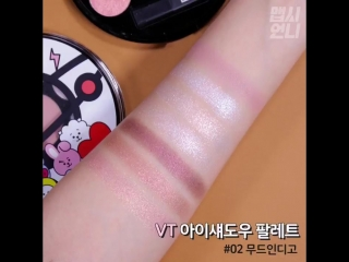 BT21 VT cosmetics collaboration