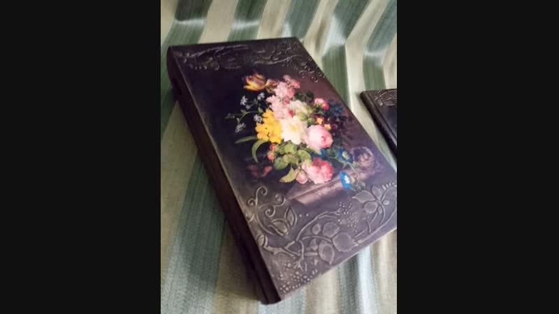Книга - шкатулка с блокнотом Summer memories.mp4