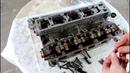 Обрыв ремня ГРМ загнуло клапана сборка головки 3часть Peugeot 407 1 8 Пежо 407 2005 года