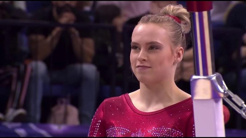 Ellie Black Superstars of Gymnastics 2019 Uneven Bars