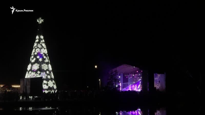 Украинские колядки и песня про Керченский мост – в Симферополе гуляют на «старый Новый год»
