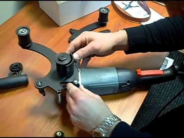 Wyposażenie i montaż przystawki do szlifierki - FN GLOB Bielsko