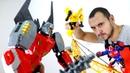 Роботы Трансформеры Автоботы и Десептиконы. Игрушки для мальчиков.