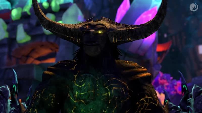 Trollhunters _ Gunmar Recruits Morgana _ Netflix. SEASON 3