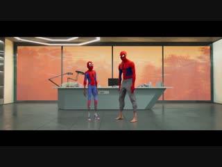 ТВ-ролик к мультфильму Человек-Паук: Через вселенные