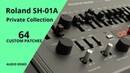 ROLAND SH-01A - 64 PATCHES (PRIVATE COLLECTION)