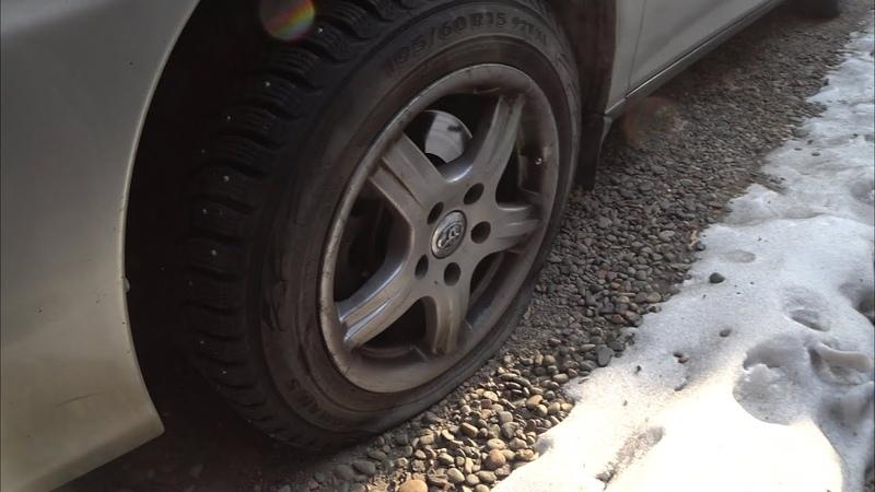Откупорил авто с морозной февральской консервации