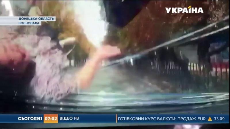 Автомобіль патрульної поліції збив жінку