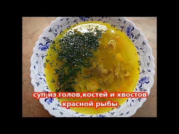Простой суп из красной рыбы горбуша кета кижуч Очень вкусный и лёгкий в приготовлении