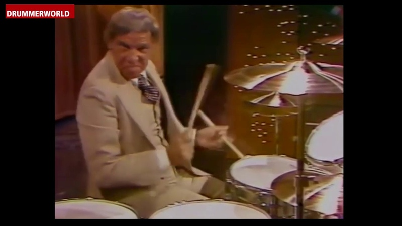 Buddy Rich SHOWCASE with his new Ludwig Drum Set