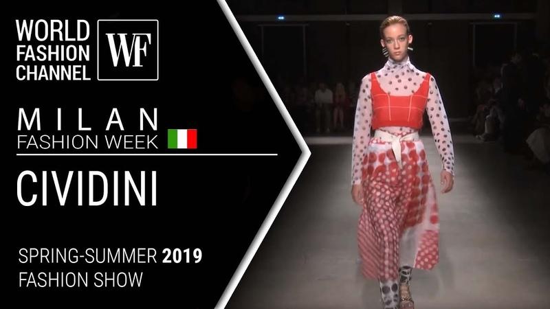 Cividini   Spring-summer 2019 Milan fashion week
