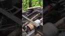 Работа лебедки ГАЗ-66 на Unimog 404 с коробкой-реверсом от мотороллера Муравей Part 4
