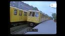 1980s Berlin Train Platform Metro U Bahn 35mm