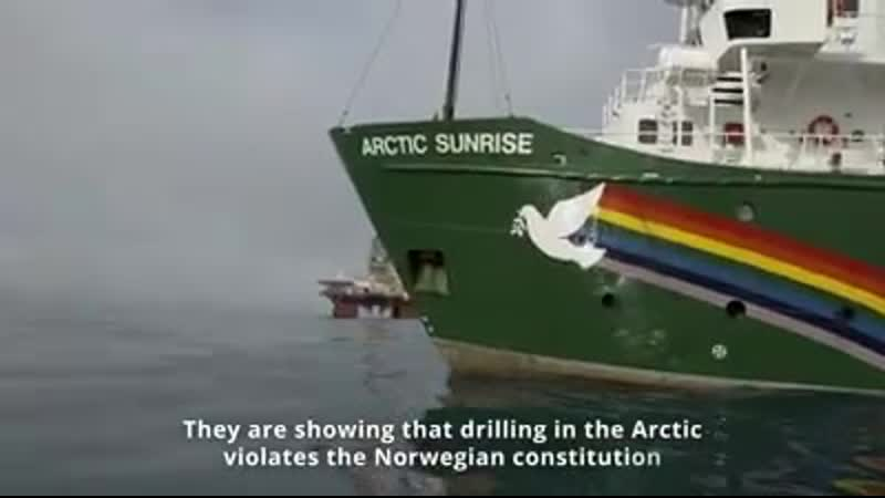 """The melting Arctic is not an invitation to go looking for any new oil"" – Lucy Lawless Agree Join Lucy and support the court cas"