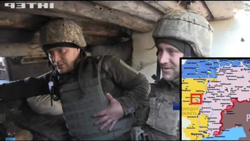 Фронт-Донбасс: Красногоровка [06.10.2018]