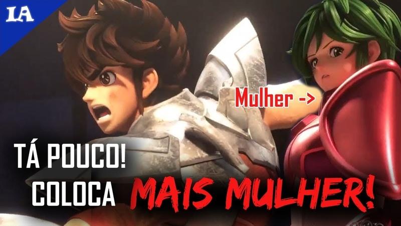MUDARAM TUDO NO REBOOT DE CAVALEIROS DO ZODÍACO!