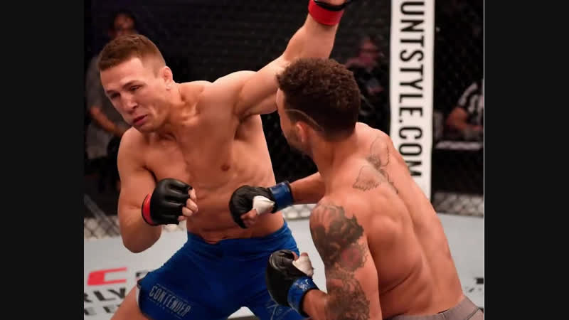 Signed. Sealed. DELIVERED. @Tango_MMA introduced himself on DWTNCS with a BANG! UFCBrooklyn