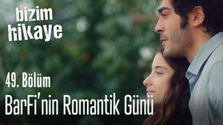 Barış ve Filiz'in romantik günü - Bizim Hikaye 49. Bölüm