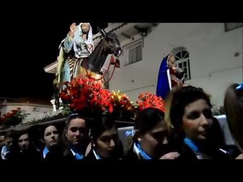 Pollinica ALHAURIN de la TORRE 2018 marcha CARIDAD del GUADALQUIVIR Viernes de Dolores 23 03