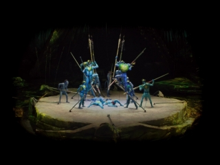 Шоу Cirque du Soleil по мотивам фильма Дж. Кэмерона АВАТАР выступит в России!