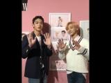 181011 Lucas & Jaemin (NCT) @ wkorea_man Instagram Update