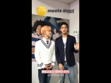 181011 Lucas & Jaemin (NCT) @ ellekorea Instagram Update