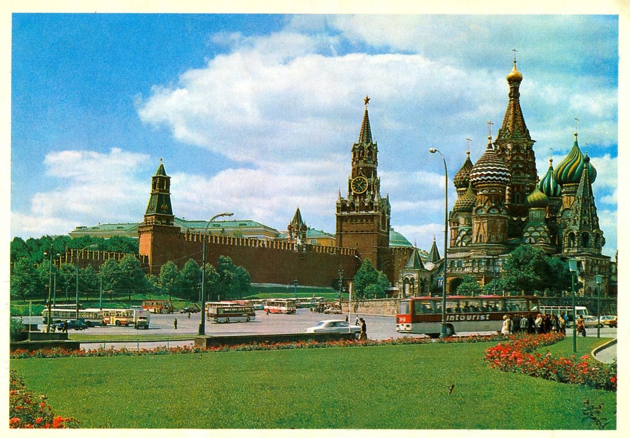 Старых, видовые открытки москвы